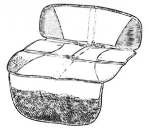 Kindersitzunterlagen